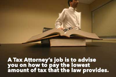 Why you need a tax attorney