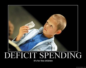 deficit spending for the children