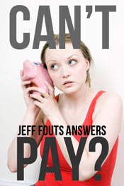 Can't Pay The IRS? Jeff Fouts Answers.