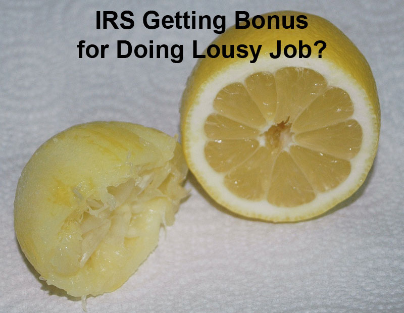 IRS Lousy Job Jeff Fouts tax associates tax solutions