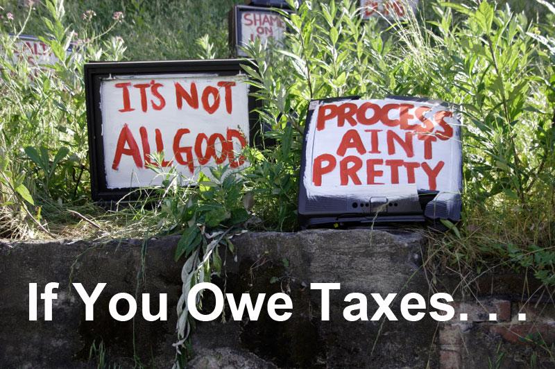 owe taxes Jeff Fouts tax associates tax solutions