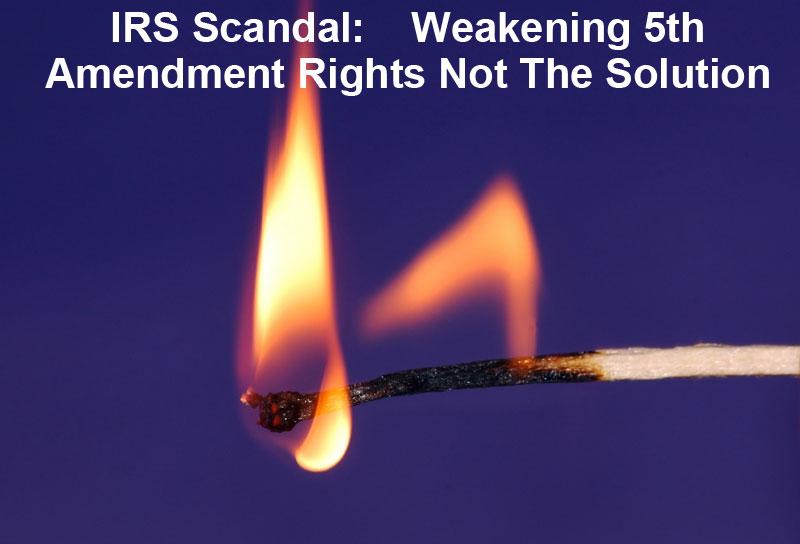 5th amendment  Jeff Fouts tax help associates tax solutions