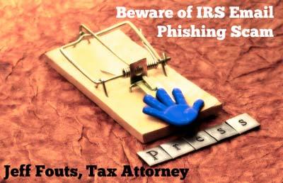 Email Phishing using IRS