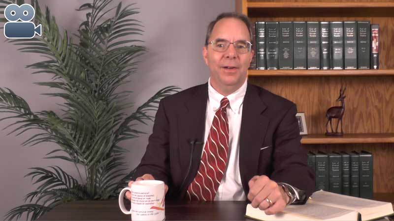 photo of Jeff Fouts Tax Attorney on camera speaking about IRS files Substitute Tax Return and Wage Levy on Nonfiler