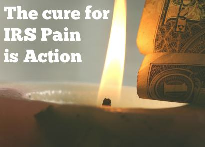 pain from IRS tax problems