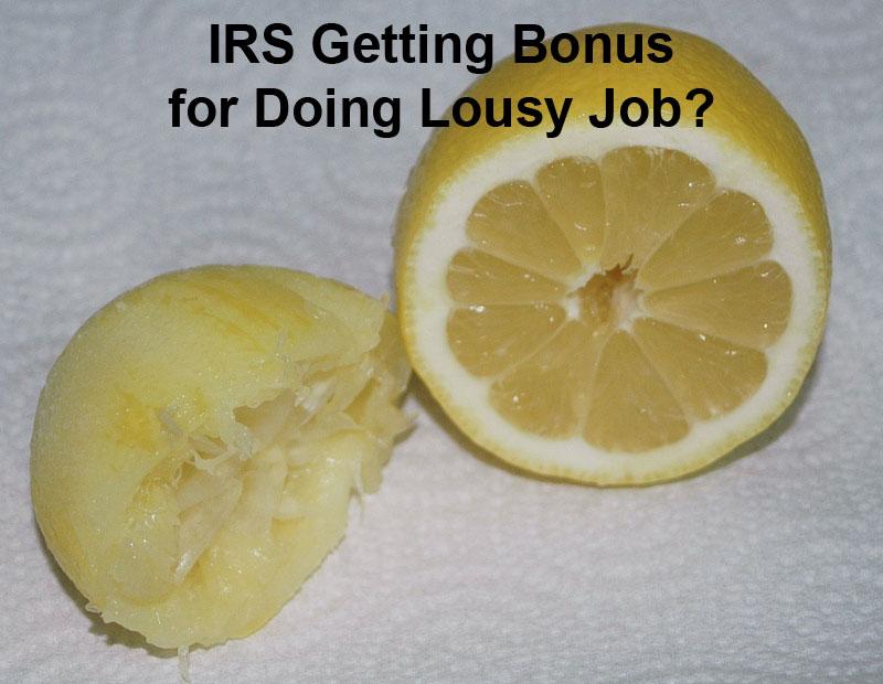 IRS Lousy Job Jeff Fouts tax associates tax solutions